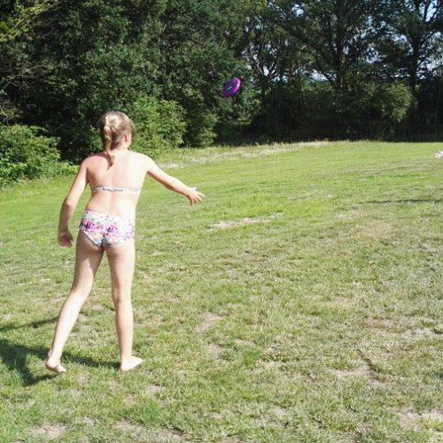 Actief Op Het Zwembad