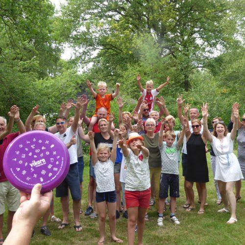 Familieweekend Met Frisbee