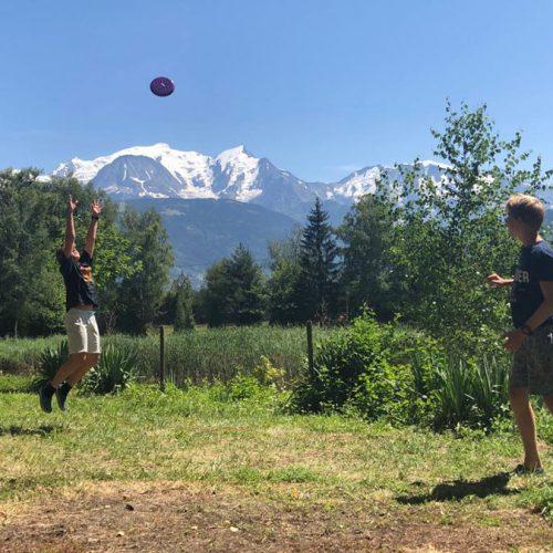 Aan De Voet Van De Mont Blanc