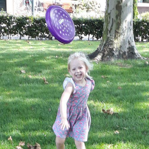 Genieten Met Vikorn Frisbee!