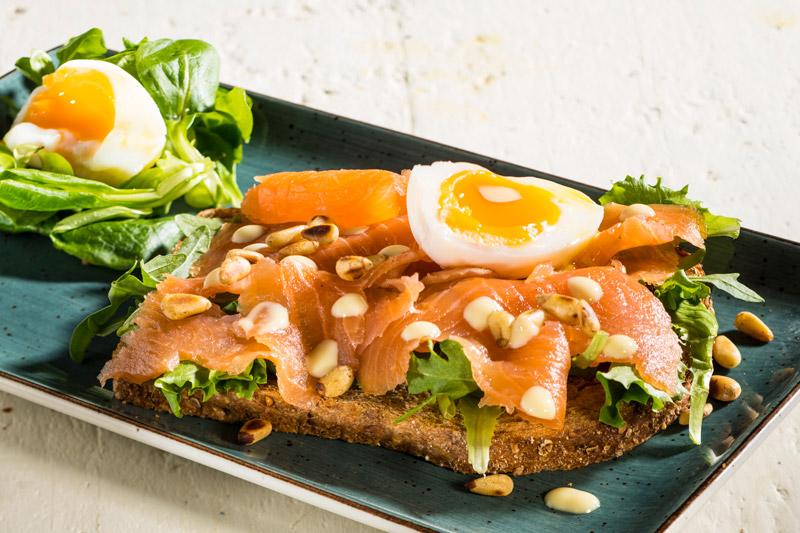 Sandwich Zalm | Wasabi Mayonaise | Eitje